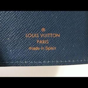 Louis Vuitton Bags - ♦️SOLD♦️Louis Vuitton blue epi agenda planner
